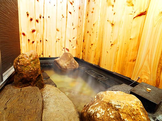 聖器 露天風呂